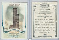 2012 Topps Allen & Ginter, World Tallest Buildings, #WTB4 Willis Tower, Chicago
