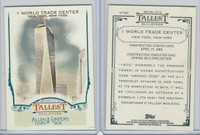 2012 Topps Allen & Ginter, World Tallest Buildings, #WTB5 World Trade, New York