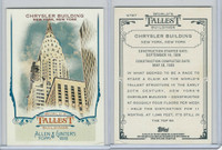 2012 Topps Allen & Ginter, World Tallest Buildings, #WTB7 Chrysler, New York