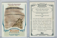 2012 Topps Allen & Ginter, World Tallest Buildings, #WTB10 Metlife, New York