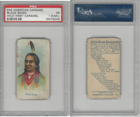 E49 American Caramel, Wild West, 1920's, Black Swan, PSA 1.5 MC Fair
