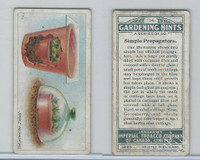 C15 Imperial Tobacco, Gardening Hints, 1923, #14 Simple Propagators