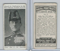 C23 Imperial Tobacco, Naval Portraits, 1915, #3 Sir JR Jellicoe