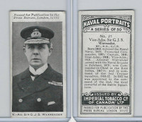 C23 Imperial Tobacco, Naval Portraits, 1915, #21 Sir GJS Warrender