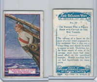 C32 Imperial Tobacco, The Reason Why, 1924, #10 Figure Head Ship