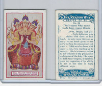 C32 Imperial Tobacco, The Reason Why, 1924, #24 Idols Many Heads