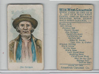E49 American Caramel, Wild West, 1920's, Jim Bridger