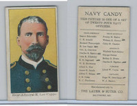 E2 Lauer & Suter, Navy Candy, 1920's, Capps, Rear Adm R. Lee (B)