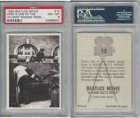 1964 Topps, Beatles Movie, #15 Here's One of the Wildest Scenes, PSA 8 NMMT