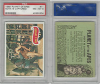 1969 Topps, Planet Of The Apes, #11 Nova Is Captured!, PSA 8 NMMT