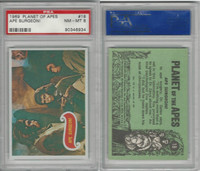 1969 Topps, Planet Of The Apes, #18 Ape Surgeon!, PSA 8 NMMT