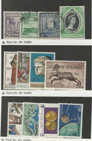 Cyprus, Postage Stamp, #164-167 Used, 424-427, 486-489 Mint NH, 1951-77