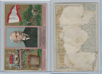 N133 Duke, State Governors, Coats of Arms Tri-Fold, 1888, Delaware