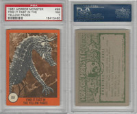 1961 Nu-Cards W531, Horror Monster, #88 Find It Fast, PSA 7 NM