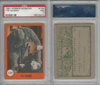 1961 Nu-Cards W531, Horror Monster, #139 The Mummy, PSA 7 NM