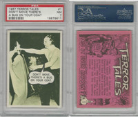 1967 Topps, Terror Tales, #1 Don't Move There's A Bug, PSA 7 NM
