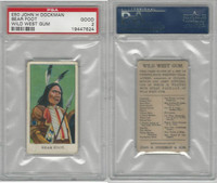 E50 Dockman, Wild West Gum, 1920's, Bear Foot, PSA 2 Good