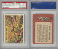 1966 A&BC, Battle, #10 Medic Under Fire, PSA 6 EXMT