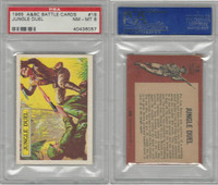 1966 A&BC, Battle, #18 Jungle Duel, PSA 8 NMMT