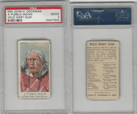 E50 Dockman, Wild West Gum, 1920's, A Pueblo Indian, San Juan NM, PSA 2 Good