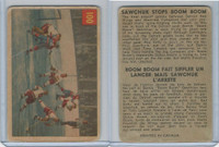 1954 Parkhurst Hockey, #100 Terry Sawchuk / Boom Boom Geoffrion In Action (B)