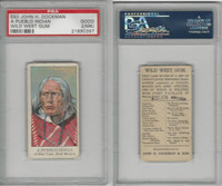 E50 Dockman, Wild West Gum, 1920's, A Pueblo Indian, San Juan NM, PSA 2 MK Good