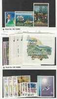 Norfolk Island, Postage Stamp, #141-143, 179-186, 187-200 Mint NH, 1970-76