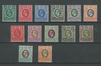 Somaliland Protectorate, Postage Stamp, #51//72 Mint Hinged, 1912-21 (p)