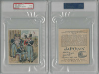 1885 H606 J&P Coats, Uniforms US Army, 1883-1850, PSA 2 Good, ZQL