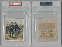 1885 H606 J&P Coats, Uniforms US Army, 1888-1893, PSA 4 VGEX, ZQL