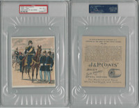 1885 H606 J&P Coats, Uniforms US Army, 1889-90 Hancock, PSA 4.5 VGEX+, ZQL