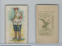 B118-0 British Am. Tobacco, Siamese Uniforms, 1915, Eagle Cigarettes (A)