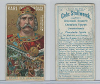 S0-0 Stollwerck Chocolate, Great Leaders, 1899, #3 Otto The Great