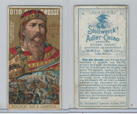 S0-0 Stollwerck Chocolate, Great Leaders, 1899, #2 Karl The Great