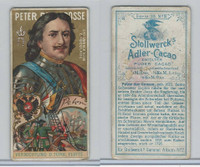 S0-0 Stollwerck Chocolate, Great Leaders, 1899, #4 Peter The Great