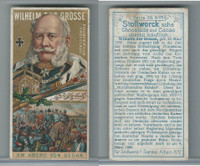 S0-0 Stollwerck Chocolate, Great Leaders, 1899, #6 Wilhelm The Great