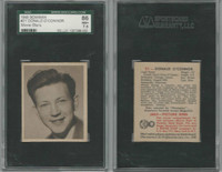 1948 Bowman, Movie Stars, #21 Donald O'connor, SGC86 NM+