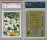 1982 Topps Football, #314 Billy Joe DuPree, Cowboys, PSA 10 Gem