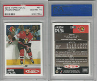 2002 Topps Total Hockey, #411 Jason Spezza, PSA 10 Gem
