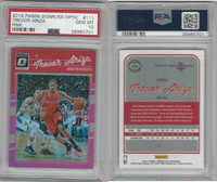 2016 Panini Donruss Basketball, #111 Trevor Ariza, Pink, Rockets, PSA 10 Gem