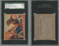 1937 R172A Gum Inc, Wild West, #10 Battle Grizzly Bear, SGC 60 EX, ZQL