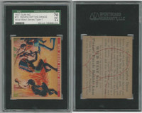 1937 R172A Gum Inc, Wild West, #15 Indian Captive Dance, SGC 70 EX+, ZQL
