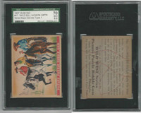 1937 R172A Gum Inc, Wild West, #17 Wild Bill Hickok, SGC 70 EX+, ZQL