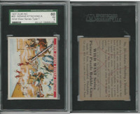 1937 R172A Gum Inc, Wild West, #20 Indians Attacking, SGC 60 EX, ZQL