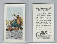 1960 Cadet Sweets, Rin Tin Tin Card, #2, ZQL