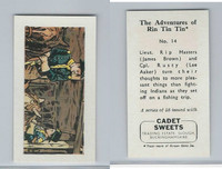 1960 Cadet Sweets, Rin Tin Tin Card, #14, ZQL