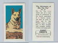1960 Cadet Sweets, Rin Tin Tin Card, #21, ZQL