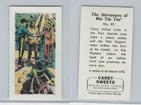 1960 Cadet Sweets, Rin Tin Tin Card, #22, ZQL