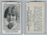 E123-2 American Caramel, Movie Actors - Series 120, 1921, #16 Bessie Barriscale