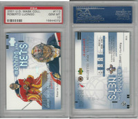 2001 Upper Deck Mask Hockey, #113 Roberto Luongo, Panthers, PSA 10 Gem